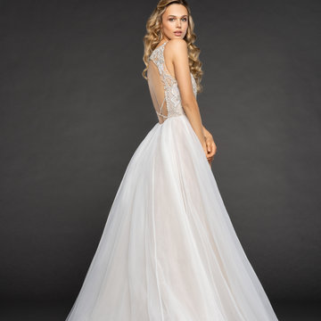 Hayley Paige Style 6854 Warren Bridal Gown
