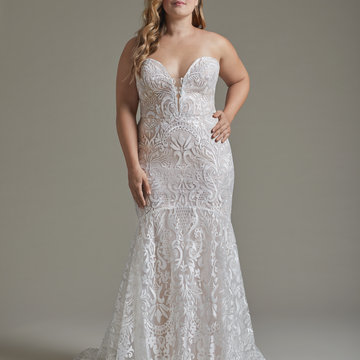 Hayley Paige Style 6914S Elke Bridal Gown