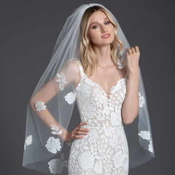 Hayley Paige Style Guipure Veil