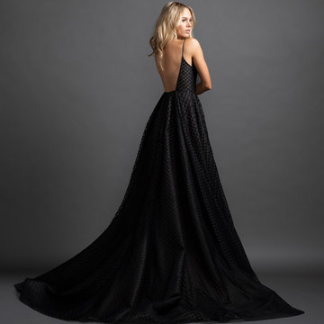 Hayley Paige Red Carpet Style Irving Gown