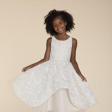 La Petite by Hayley Paige Style 52023 Maven Flower Girl Dress