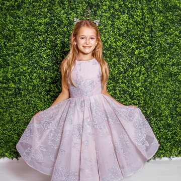 La Petite by Hayley Paige Style 5821 Charlie Flower Girl Dress