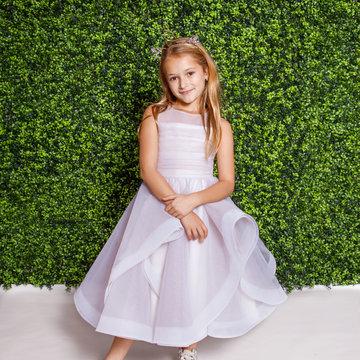 La Petite by Hayley Paige Style 5823 Dora Flower Girl Dress