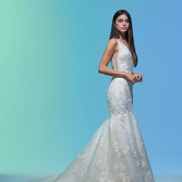 Lazaro Style 32001 Eavan Bridal Gown