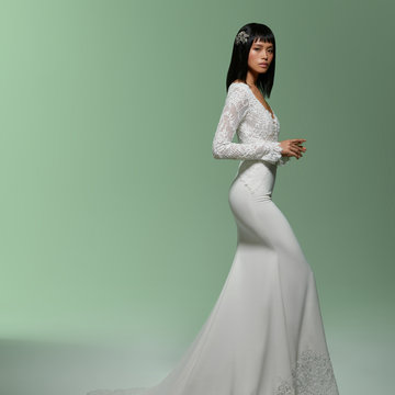 Lazaro Style 32007 Marilyn Bridal Gown