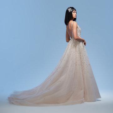 Lazaro Style 32009 Amira Bridal Gown