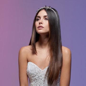 Lazaro Style 32014 Stephanie Bridal Gown