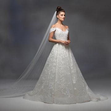 Lazaro Style 32100 Vienna Bridal Gown