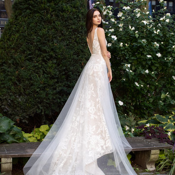 Lazaro Style 32104 Hope Bridal Gown