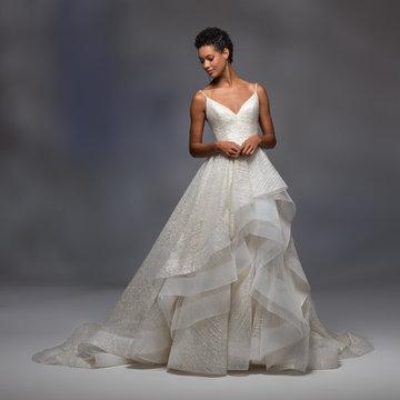 Lazaro Style 32105 Cheyenne Bridal Gown