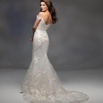 Lazaro Style 32107 Alexandria Bridal Gown