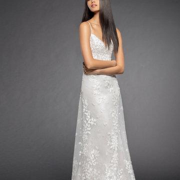 Lazaro Style 3853 Milena Bridal Gown