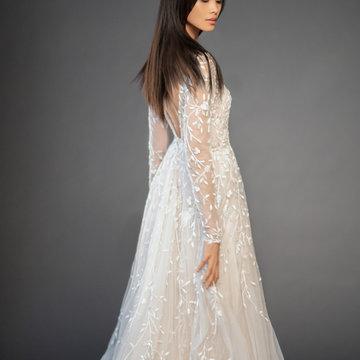 Lazaro Style 3859 Isabel Bridal Gown