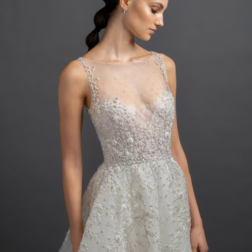 Lazaro Style 3900 Gabriela Bridal Gown