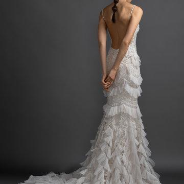 Lazaro Style 3901 Tatiana Bridal Gown