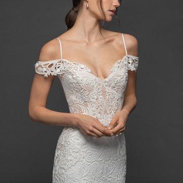 Lazaro Style 3953 Hanna Bridal Gown