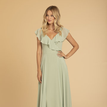 Hayley Paige Occasions Style 52010 Bridesmaids Gown