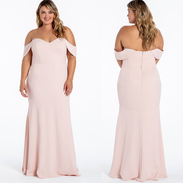 Hayley Paige Occasions Style 52012 Bridesmaids Gown