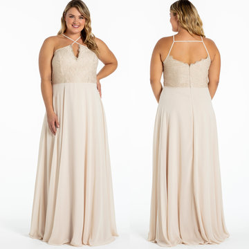 Hayley Paige Occasions Style 52017 Bridesmaids Gown