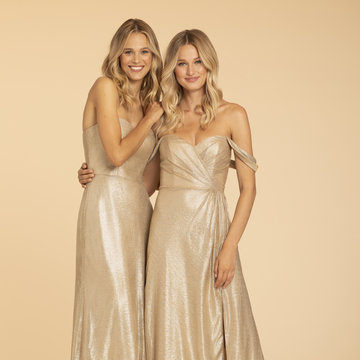 Hayley Paige Occasions Style 52018 Bridesmaids Gown