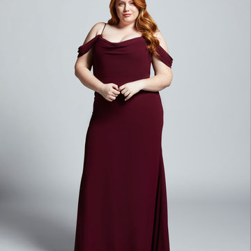 Hayley Paige Occasions Style 52108 Bridesmaids Gown