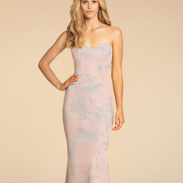 Hayley Paige Occasions Style 5907 Bridesmaids Gown