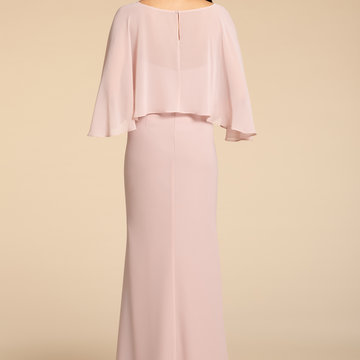 Hayley Paige Occasions Style 5921 Bridesmaids Cape