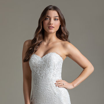 Ti Adora by Allison Webb Style 72005 Thea Bridal Gown