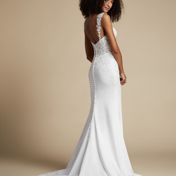 Ti Adora by Allison Webb Style 72101 Willa Bridal Gown