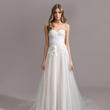 Ti Adora by Allison Webb Style 7959 Zoe Bridal Gown