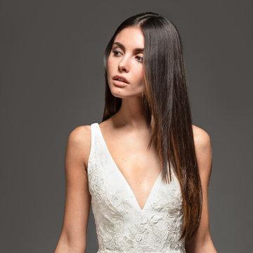 Tara Keely by Lazaro Style 22004 Adele Bridal Gown