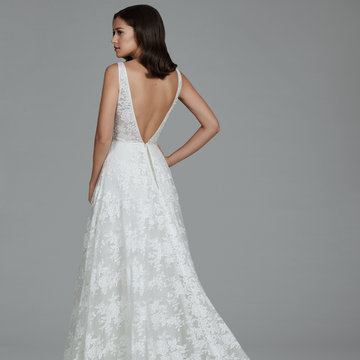 Tara Keely by Lazaro Style 2802 Bridal Gown
