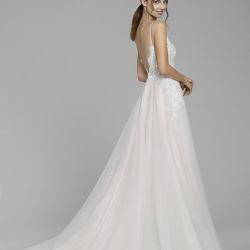 Tara Keely by Lazaro Style 2851 Paola Bridal Gown