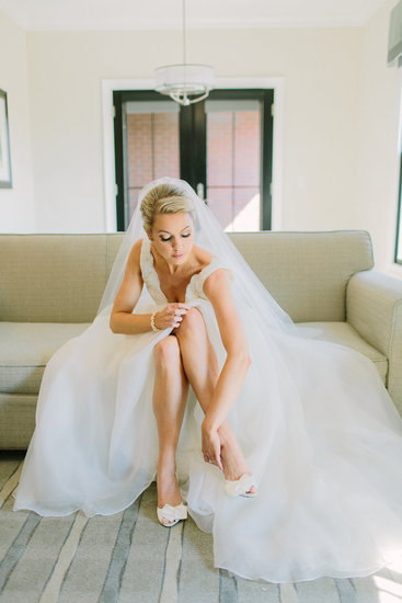 Bride Getting Ready on Her Big Day