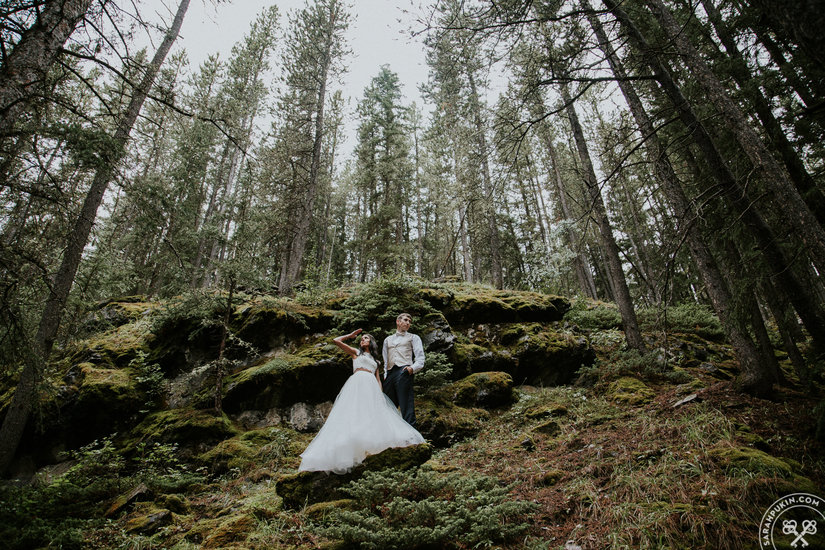 Laura & Cody's Banff Alberta Wedding