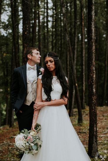 Laura & Cody's Banff Alberta Wedding