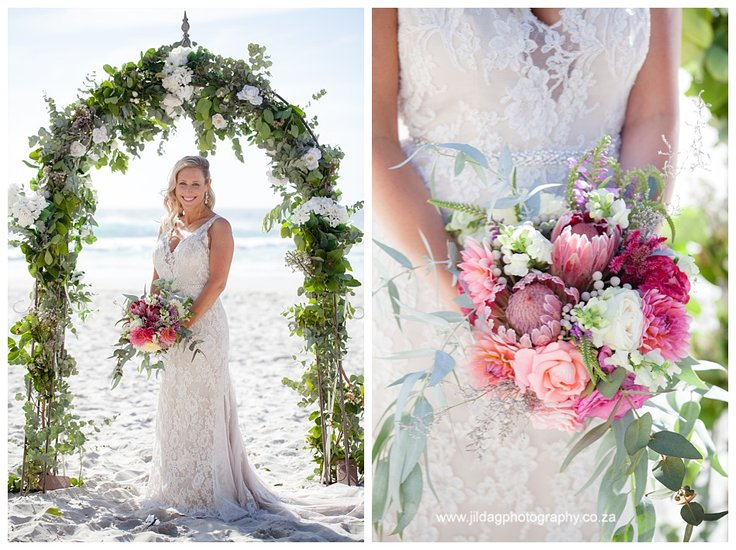 Flowers & Gown