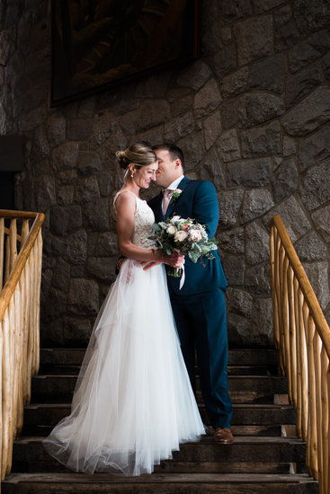 Grouse Mountain lodge wedding