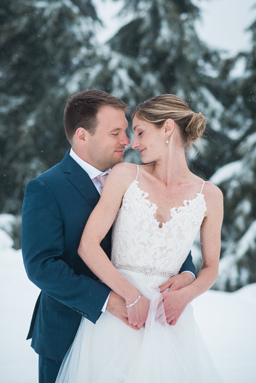 Winter wedding in Vancouver