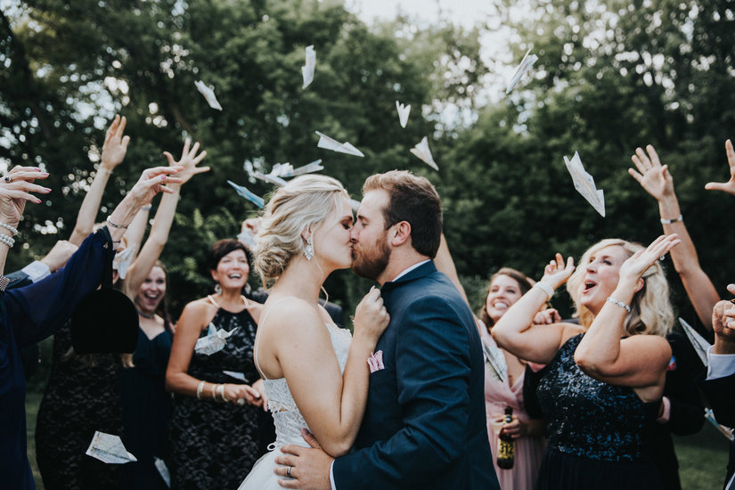 Tonya + Brett, vintage travel wedding