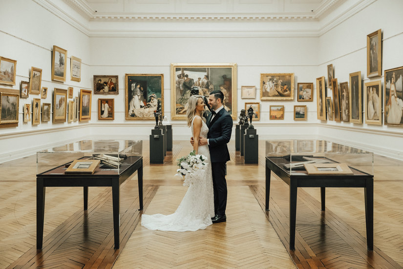 Bianca and Ashley - Art Gallery of NSW.