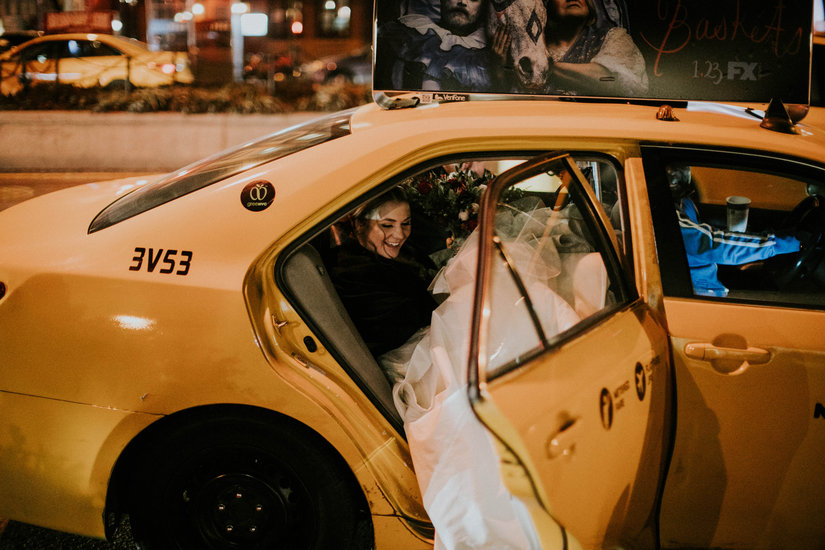 Taxi, NYC, Manhattan, city, Nato Tuke, Hayley Paige, Collins, crosswalk, Couples Photo