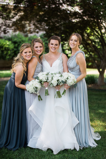 Brennen and bridesmaids