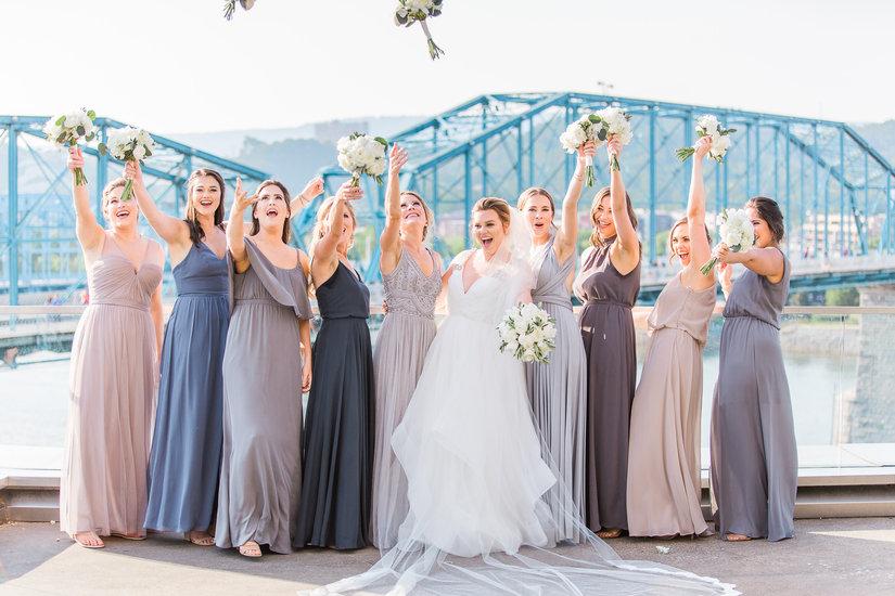 Chattanooga bridesmaids