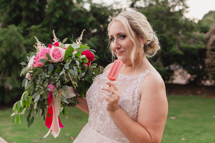Popsicle Bride
