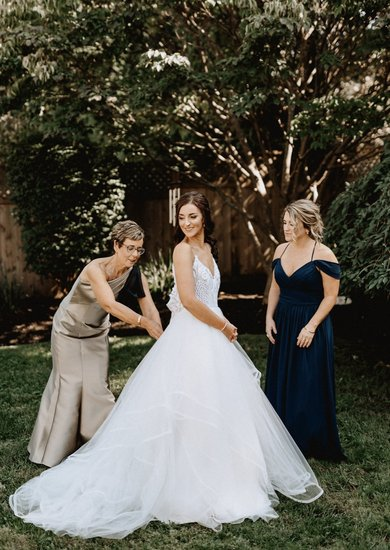 Pepper gown, bridesmaid style 5663