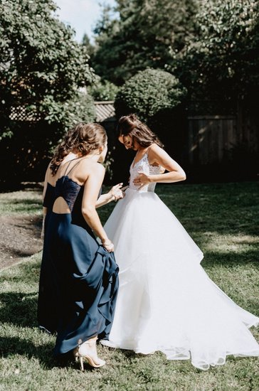 Pepper gown, bridesmaid style 5715