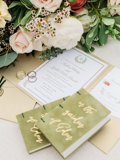 Beautiful Invites and Florals