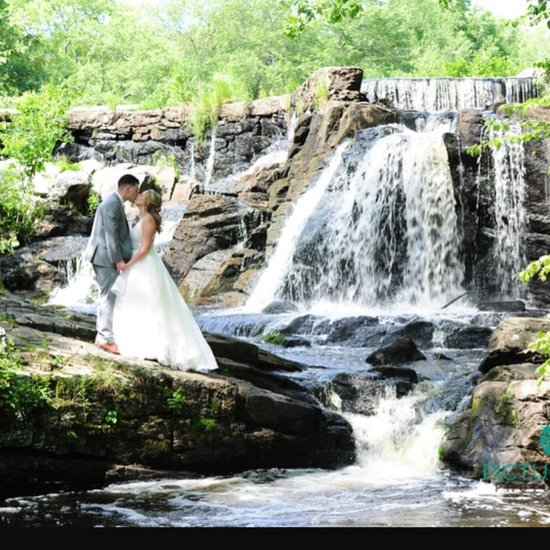 Southford Falls in Southbury, CT