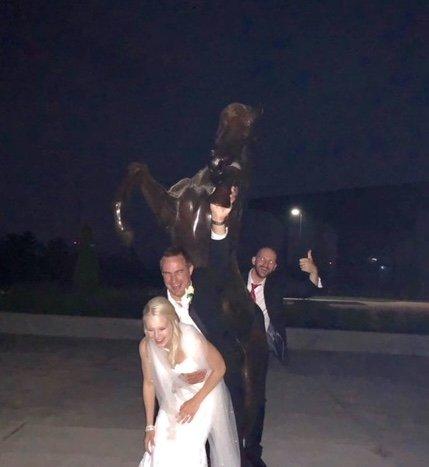 Dark Horse Statue